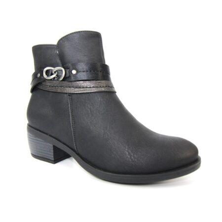 Lunar Arwen Grey Ankle Boots