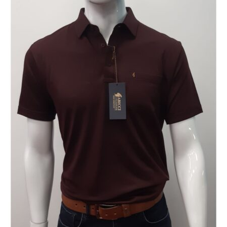Gabicci Classic Ox Blood Sports Shirt