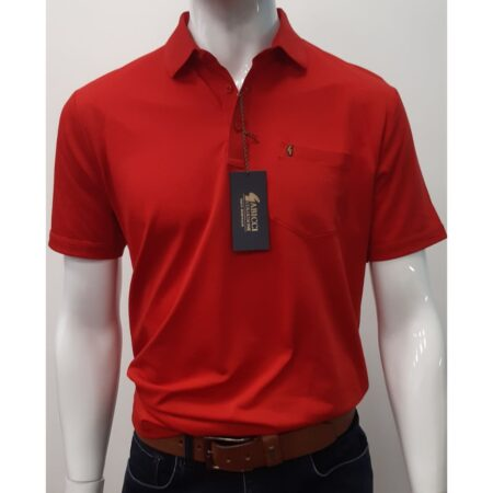 Gabicci Classic Lava Red Sports Shirt