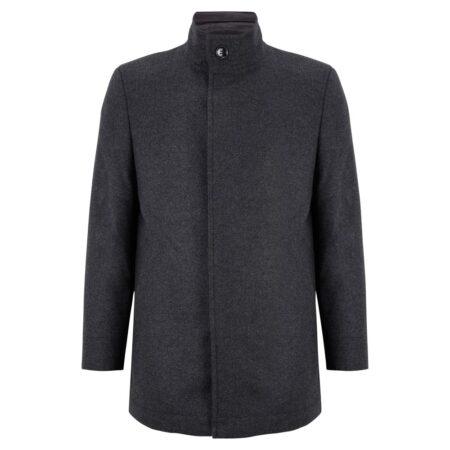 Douglas Grey Wool Coat 90355-07