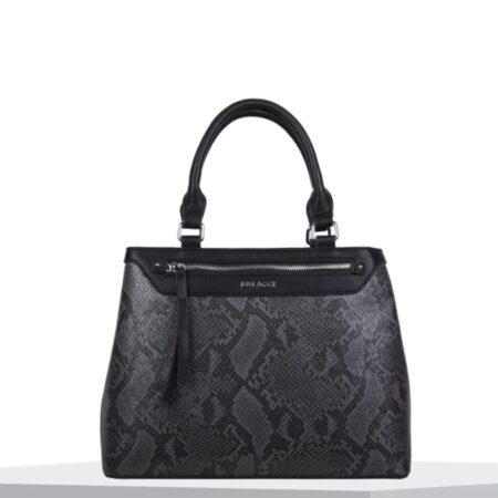 Bulaggi Quince Black Snake Print Handbag