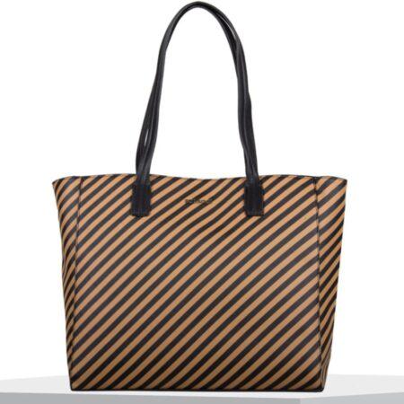 Bulaggi Sissy Camel Striped Handbag