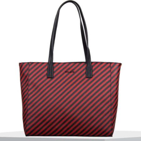 Bulaggi Sissy Red Striped Handbag