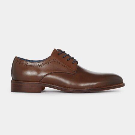 Remus Uomo Turino Tan Leather Shoes