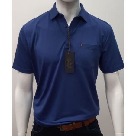 Gabicci Classic Riviera Blue Sports Shirt