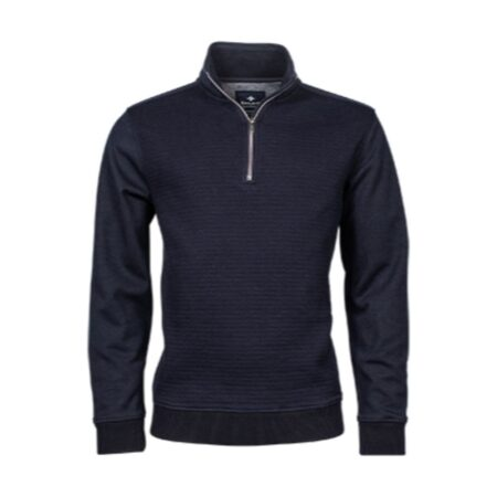 Baileys Navy zip top