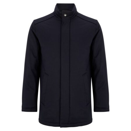 Daniel Grahame Navy Branson Tailored Coat