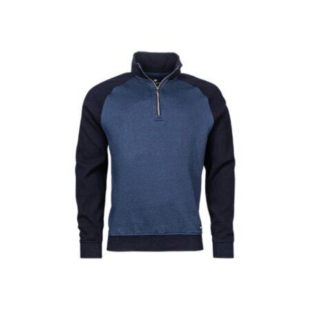 Baileys Blue Zipped Sweatshirt