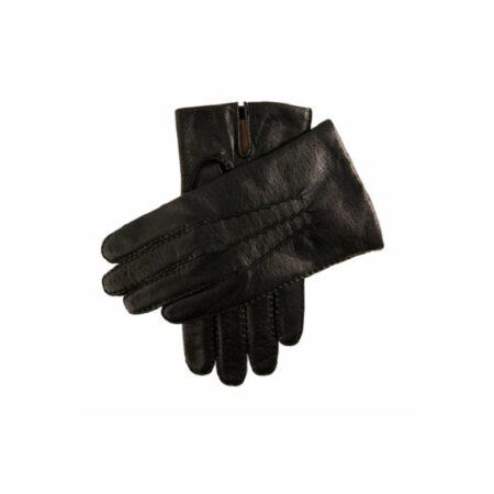 Dents Black Leather Kent Gloves
