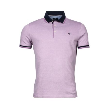 Baileys Lilac Polo Neck Top