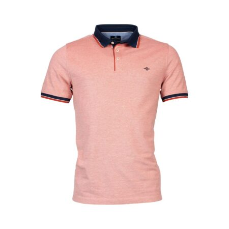Baileys Pink Polo Neck Top
