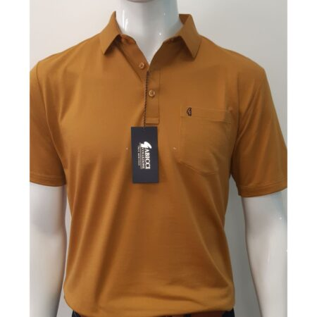 Gabicci Classic Harvest Yellow Sports Shirt