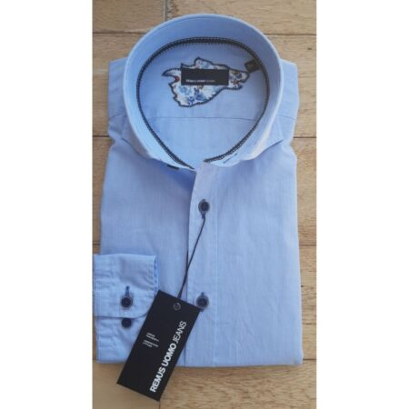 Remus Uomo Light Blue Slim Fit Shirt