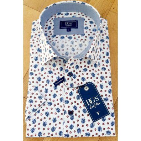 Drifter Short Sleeve Floral Print Shirt