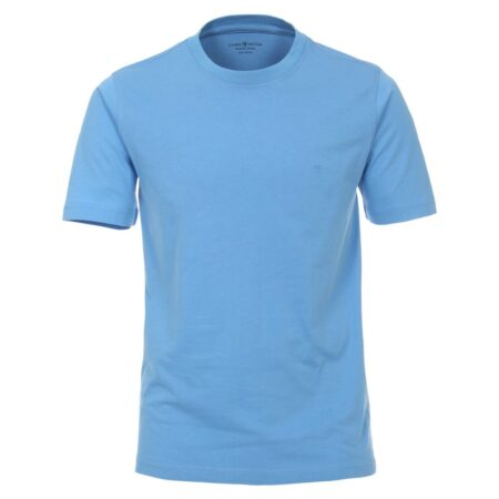 Casa Moda Blue Round Neck T-Shirt