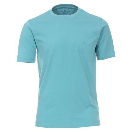 Casa Moda Turquoise Round Neck T-Shirt