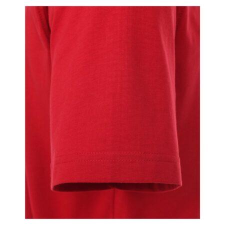 Casa Moda Red Round Neck T-Shirt