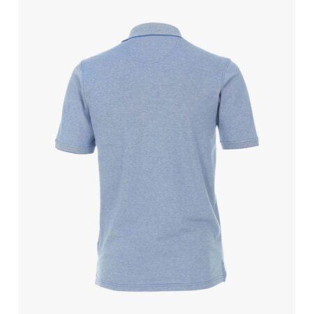 Casa Moda Pale Blue Polo Shirt