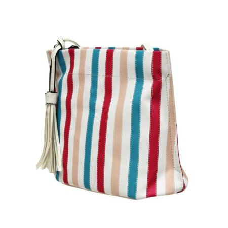 Envy Multi Colour Striped Handbag