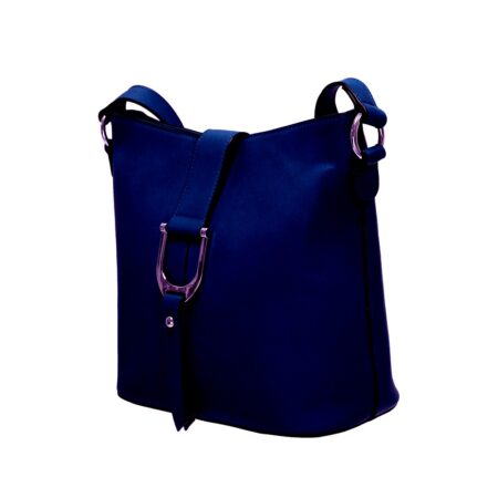 Envy Navy Medium Shoulder Bag