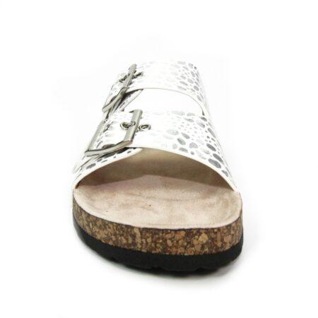 Lunar Kendal White Mule Sandals