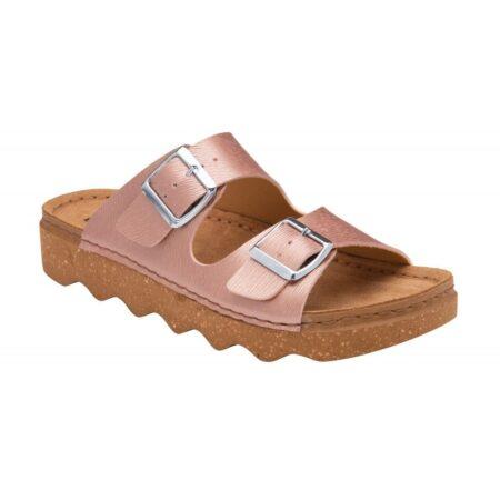 Lotus Pisa Metallic Pink Sandals