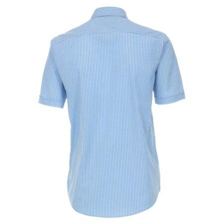 Casa Moda Short Sleeve Blue Striped Shirt