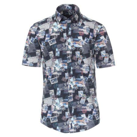 Casa Moda Short Sleeve Beach Shirt