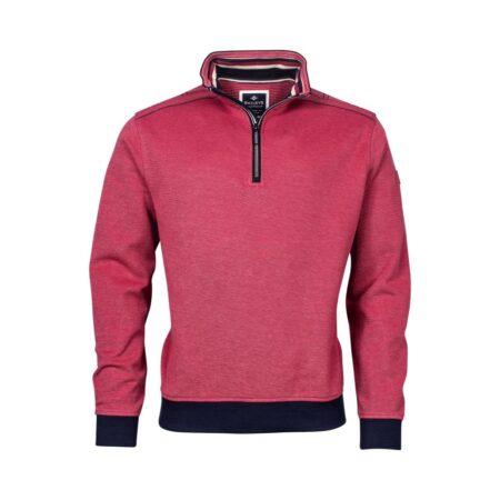 Baileys Raspberry Long Sleeve Zip Sweatshirt