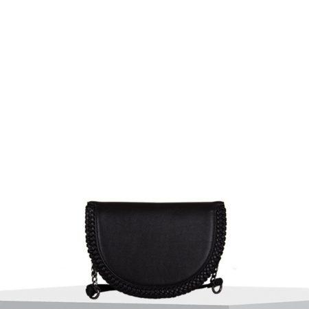 Bulaggi Anemoon Black Half Moon Bag
