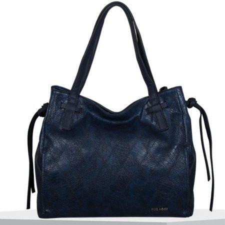 Bulaggi Meghan Navy Shopper Bag