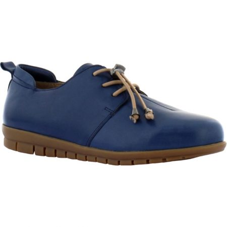Adesso Sarah Denim Blue Leather Shoes