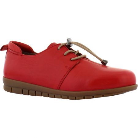 Adesso Sarah Red Leather Shoes