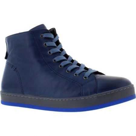 Adesso Yankee Blue Leather Ankle Boots